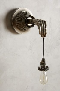 anthro sconce